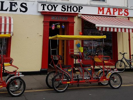 Quadricycle at Mapes of Millport